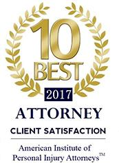 American Institute of Personal Injury Attorneys 2017