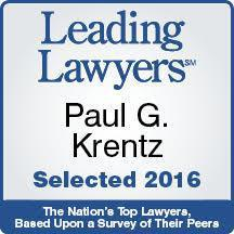 Paul G. Krentz Leading Lawyers Award