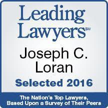 Joseph C. Loran Leading Lawyers Award