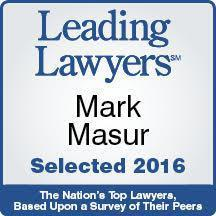 Mark Masur Leading Lawyers Award