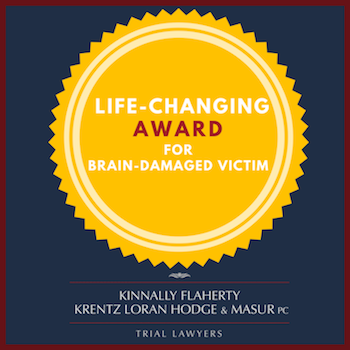 Life-changing personal injury award for brain damaged client